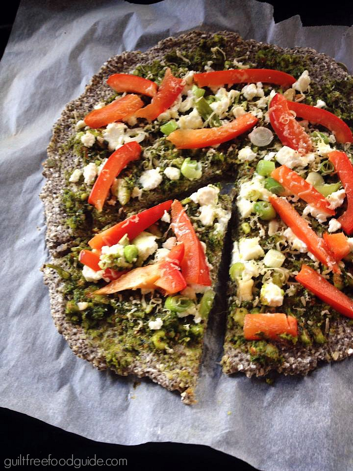 Quick and Easy Buckwheat & Chia Seed Pizza Base
