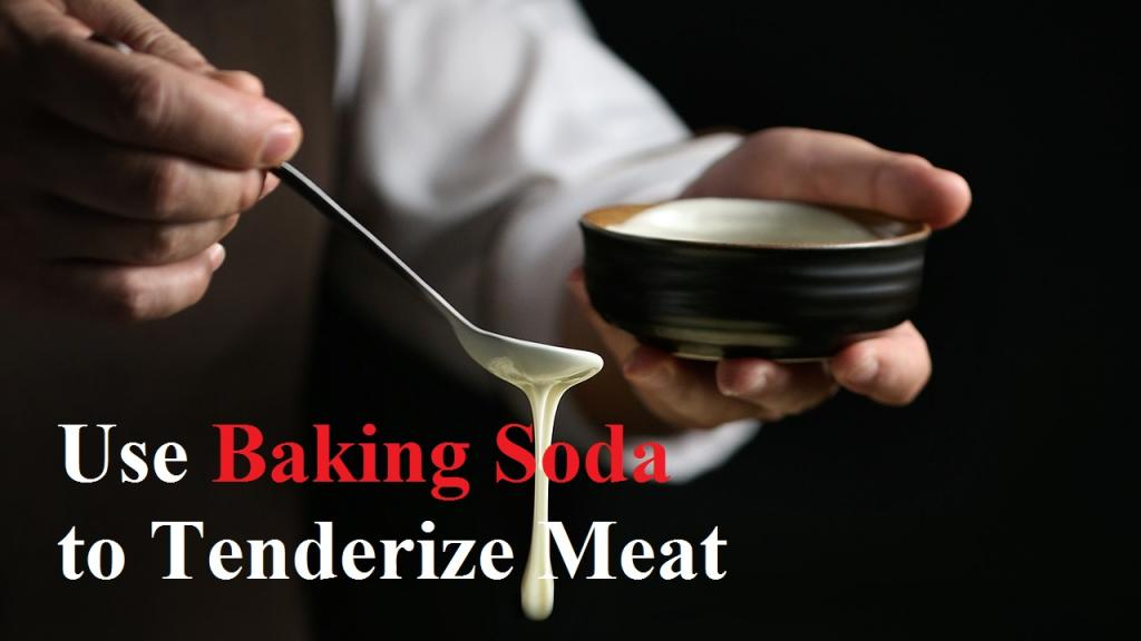 Baking Soda to Tenderize Meat by America's test kitchen