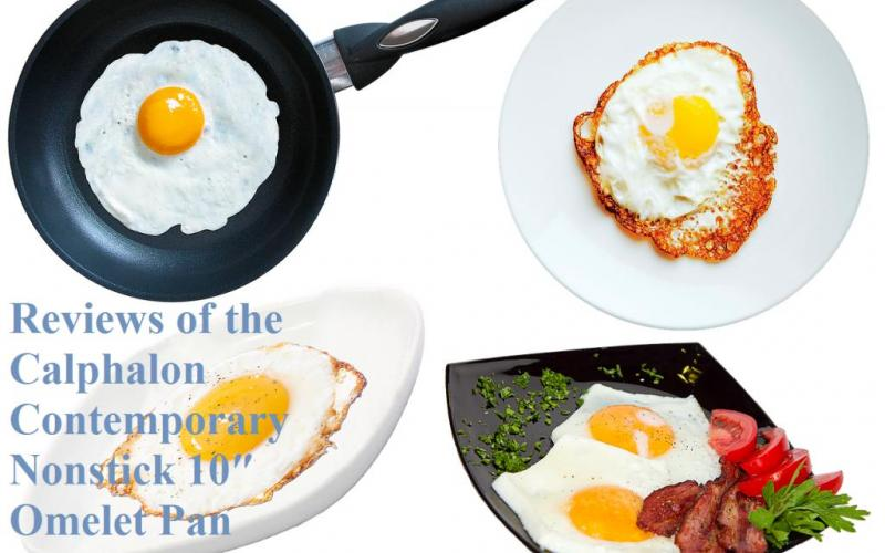 Review of Calphalon Contemporary Nonstick 10- and 12-Inch Omelet Pans