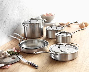 JA Henckels International 10-Piece Tri-Ply Stainless Steel Cookware Set Review