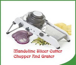 Top 3 Best Mandoline Slicer Cutter Chopper And Grater