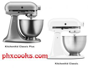 Difference Between KitchenAid Classic And Classic Plus