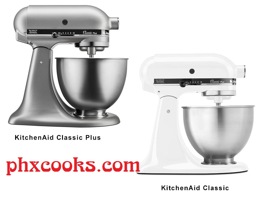 KitchenAid Classic Vs. Classic Plus